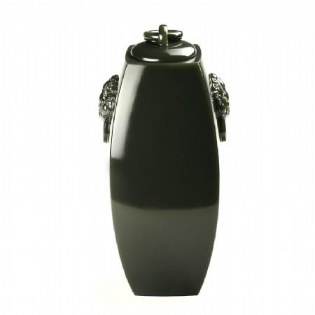 青玉籽料-四方乾坤瓶