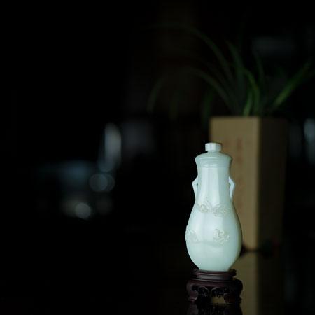和田白玉-五福同壽