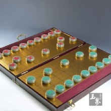 青白玉-中國象棋