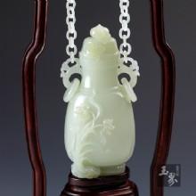 白玉手机-水仙链瓶