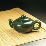 青玉-素面团圆壶