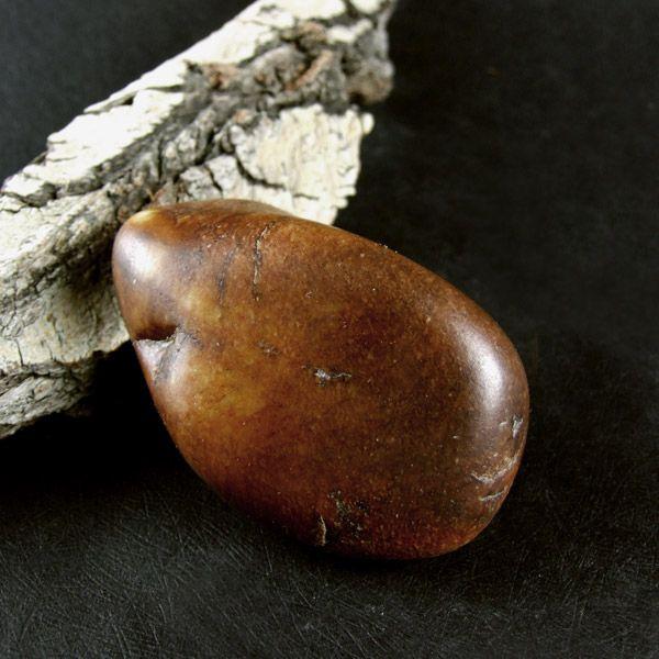 和田玉鹿皮籽料 原石把件