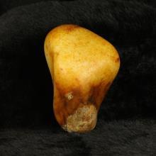 和田玉籽料 撒金皮原石601.8g
