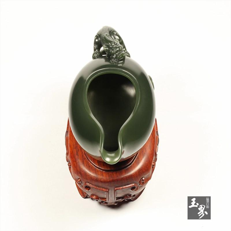 青玉-螭龙匜-6