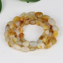 白玉籽料原石 — 项链