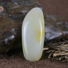 原石籽料-黄皮原石