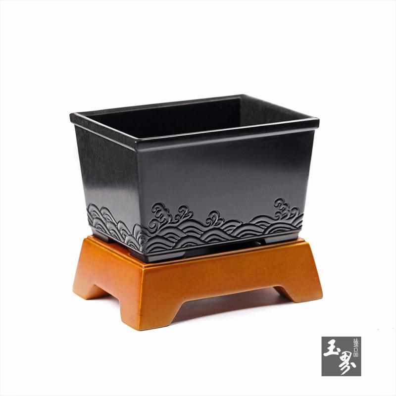 墨玉-方升水盂