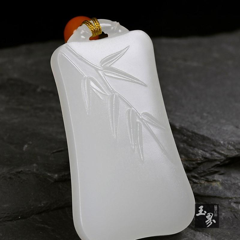 白玉牌-竹报平安-2