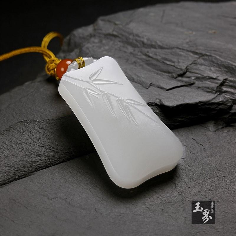 白玉牌-竹报平安-4