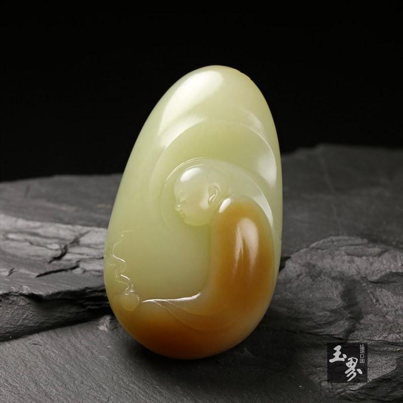 黄玉把件-清修-3