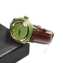 和田玉-碧玉机械腕表(女款)