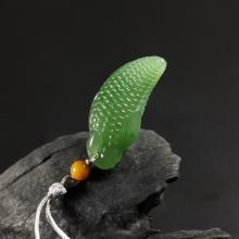 碧玉挂件-小玉米