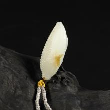 糖白玉挂件-小玉米