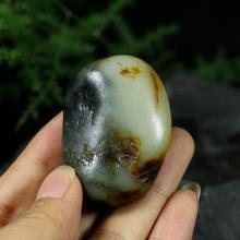 新疆和田墨玉青花子料原石