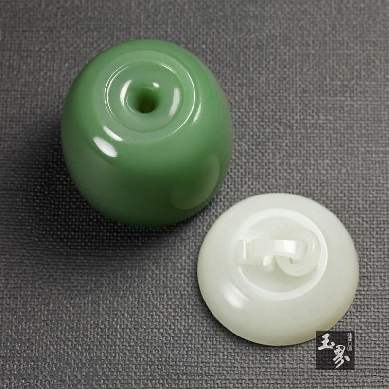 碧玉-沉香罐