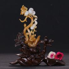 和田玉糖玉拈花示众63.413g