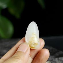 新疆和田羊脂白玉子料原石(特惠)