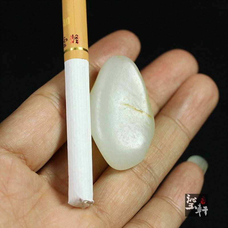白玉子料原石