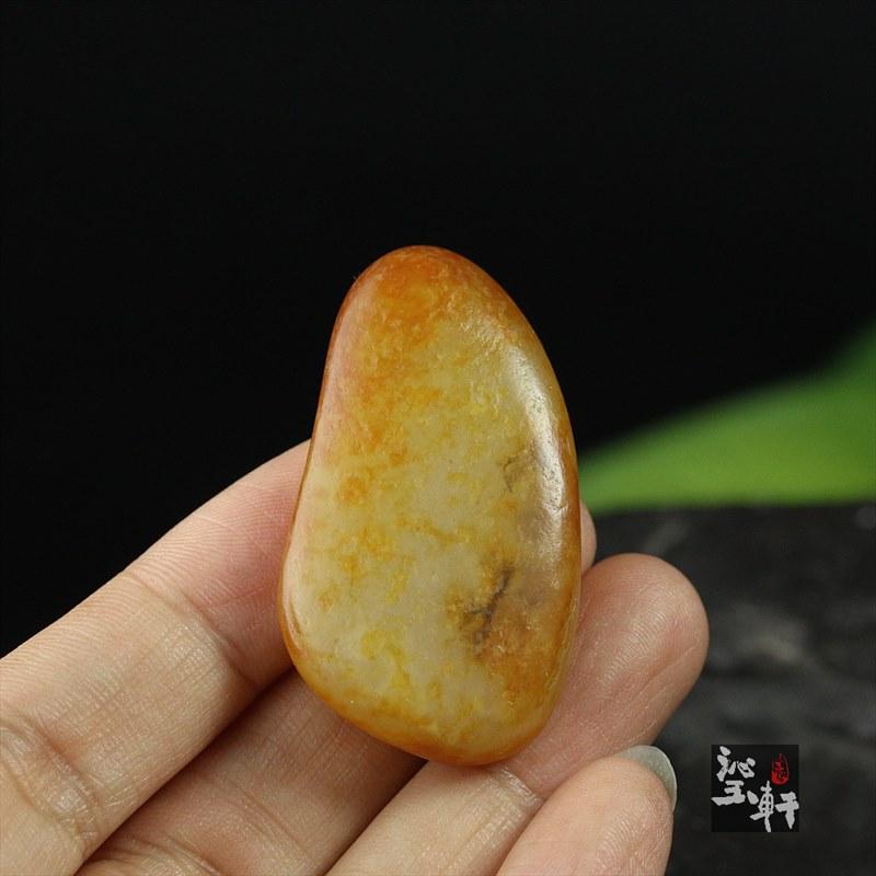 撒金皮子料精品原石