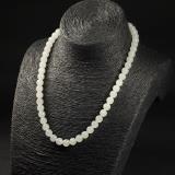 白玉-圓珠項鏈