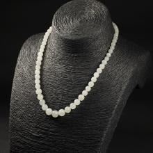 白玉-圆珠项链