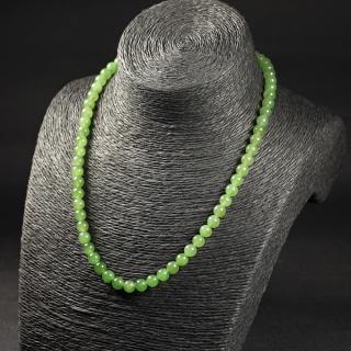 碧玉-素珠项链