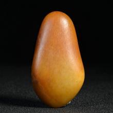 新疆和田籽料黄沁原石 原料挂件