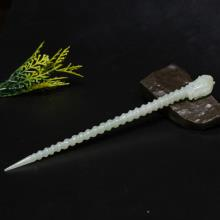 青白玉龙簪子