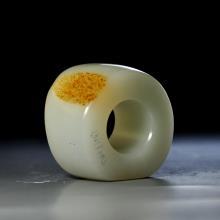 白玉籽料扳指
