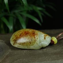 白玉子料掛件-龍龜(不議價)