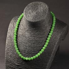 碧玉-圆珠项链