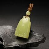 黄玉挂件-寿海