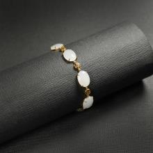 (18k金)羊脂白玉-手链