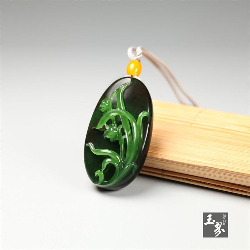 巧雕碧玉-兰香牌