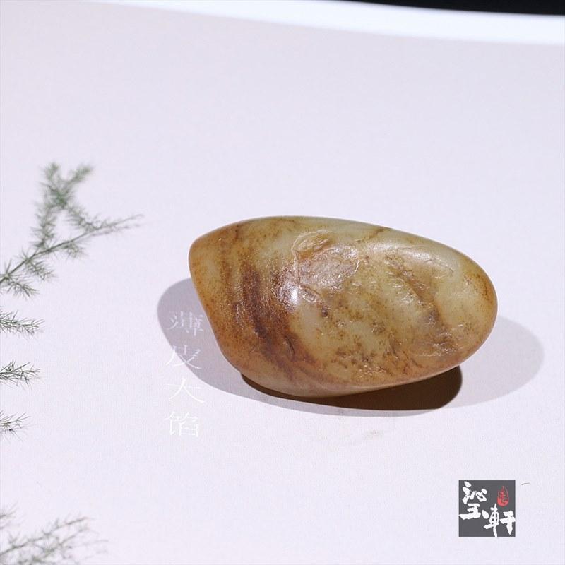 新疆和田撒金皮子料原石