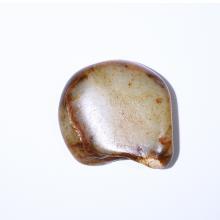 棗紅皮白玉子料原石