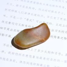 沁红皮白玉子料原石(特惠)
