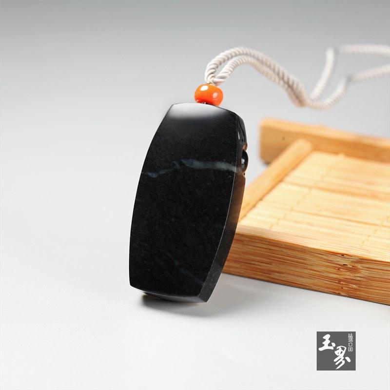 墨玉子料-兽面牌