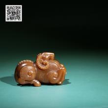 新疆且末料糖玉挂件-领头羊(特惠)