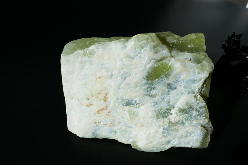 青海黄口料原石