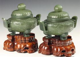 和田玉器皿赏鉴——灵性古朴的玉炉